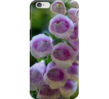 Foxglove flowers iPhone Case/Skin