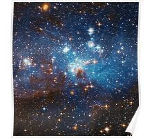 Star Forming Region LH 95 in the Large Magellanic Cloud Poster
