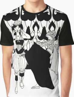 lady with corset Graphic T-Shirt