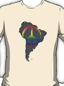 Peace in South America T-Shirt T-Shirt