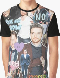 james mcavoy collage Graphic T-Shirt