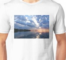 Blue Morning Zen - Toronto Skyline Impressions Unisex T-Shirt