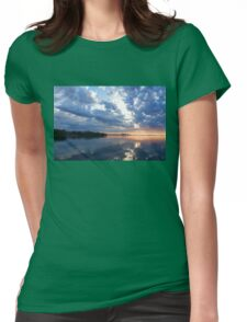 Blue Morning Zen - Toronto Skyline Impressions Womens Fitted T-Shirt