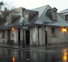 Lafitte's Blacksmith Shop on Bourbon St. by Alfonso Bresciani