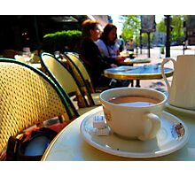 coffee at the select Photographic Print