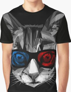 3D Specs Graphic T-Shirt