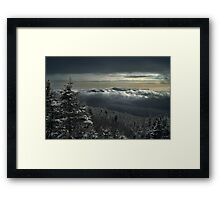 View to Mount Washington in New Hampshire 1 Framed Print