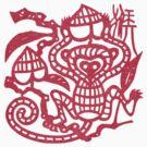 Chinese Paper Cut Year Of The Monkey by ChineseZodiac