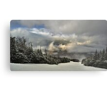 View from summit of Bretton woods ski area Metal Print