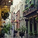 Exchange Alley -  New Orleans Vertical by Alfonso Bresciani