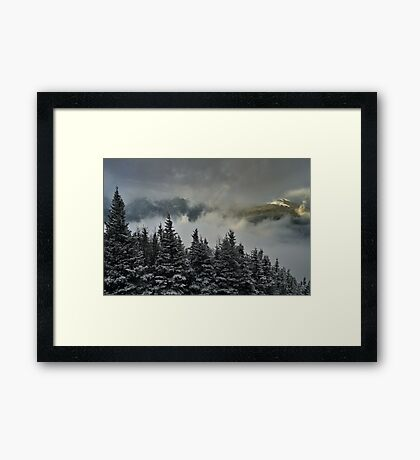 View from summit of Bretton woods ski area 2 Framed Print