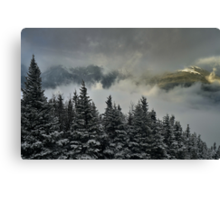 View from summit of Bretton woods ski area 2 Canvas Print