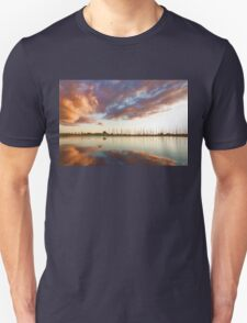 Reflecting on Yachts and Clouds - Lake Ontario Impressions Unisex T-Shirt