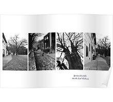 Yackandandah Streetscape - montage N E Victoria Poster