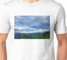 Impressions of Mountains and Magical Clouds Unisex T-Shirt
