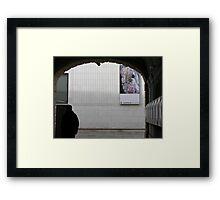 museums quartier Framed Print