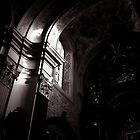 a ray of light in mariahilferkirche by kchamula