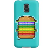 Pixel Hamburger Samsung Galaxy Case/Skin
