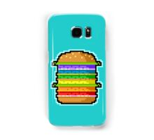 Pixel Hamburger Samsung Galaxy Case/Skin