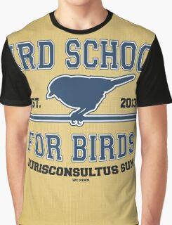 Bird School for Birds Graphic T-Shirt