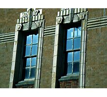 deco window,berkeley Photographic Print