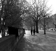 morning walk on the left bank by kchamula