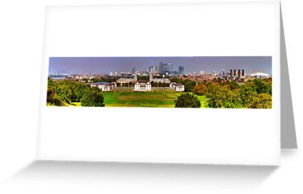 Greenwich View Pano by John Hare