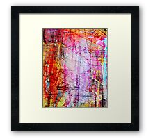 the city 44a Framed Print