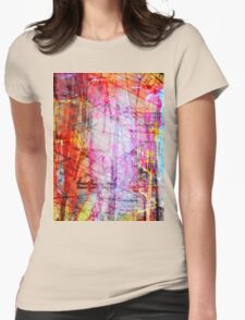 the city 44a Womens Fitted T-Shirt