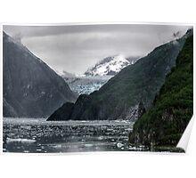 Alaskan Glacier Poster