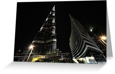 Burj Khalifa by Michael Powell