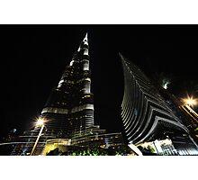 Burj Khalifa Photographic Print