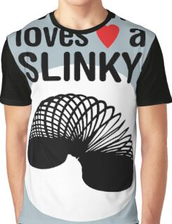 Slinky! [BLACK TEXT] Graphic T-Shirt