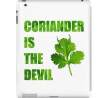 satanic herb iPad Case/Skin
