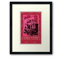 VICTORIA'S SECRET Framed Print