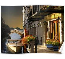 (◡‿◡✿) (◕‿◕✿) Lovers Stroll In Venice Card / Picture  (◡‿◡✿) (◕‿◕✿) Poster