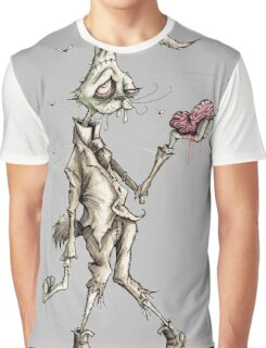 Bugs Zombunny (Sepia) Graphic T-Shirt