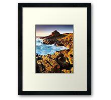 Bombo Reserve Framed Print