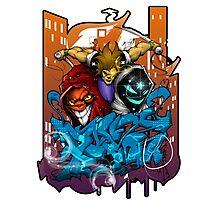 boston graffiti Photographic Print