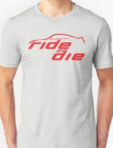 Ride Or Die Red T-Shirt