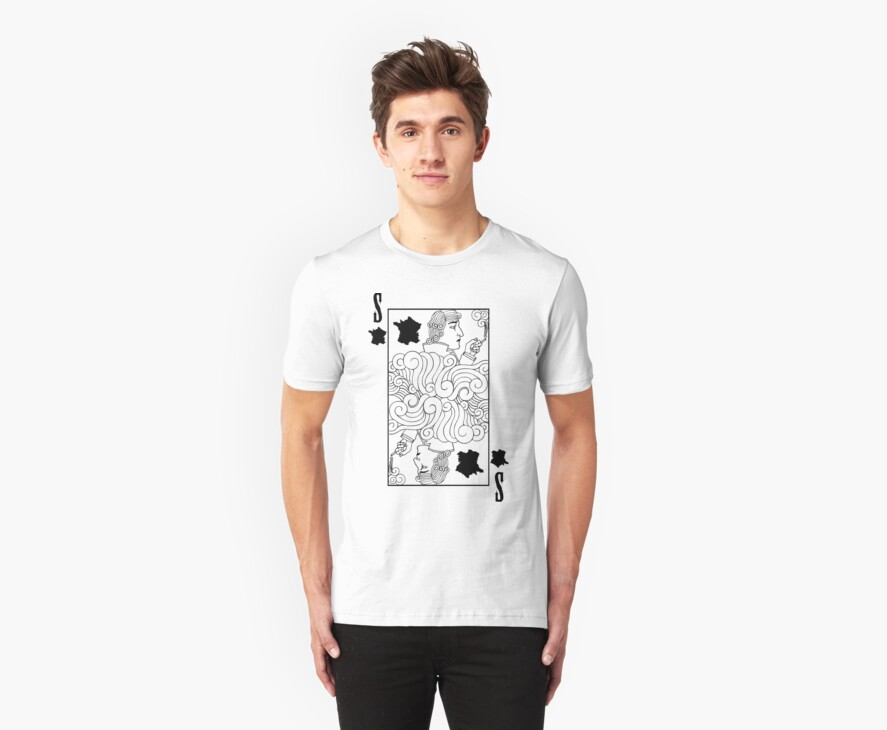 SebastiAn Playing Card Shirt by Danger12h08