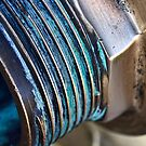 Blue corrosion by Celeste Mookherjee