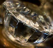 Grandma's glass doorknob by Celeste Mookherjee