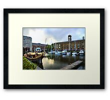 Golden Boat - Gloriana, The British Royal Barge Framed Print