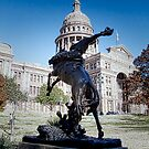 Tribute to the Rough Riders of the Range - Texas State House - Austin - Texas by Jack McCabe