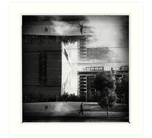 Dockland to.  Art Print