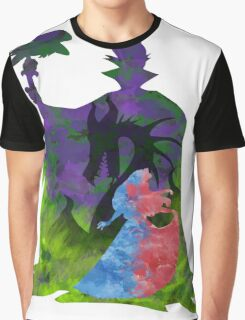 Once Upon a Dream - Splash Dress Graphic T-Shirt