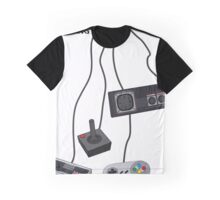 Keep Playing Retro Games Graphic T-Shirt