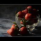 STRAWBERRIES!!!!! by kamaljeet kaur