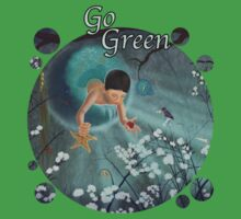Keepsakes of the Ocean - Go Green - Bubble cut out Kids Clothes